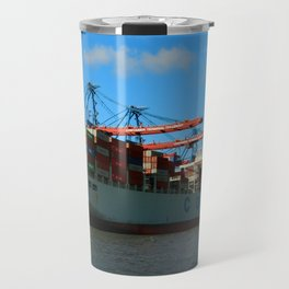 Cosco Cotainer Ship Travel Mug