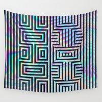 xoxo Wall Tapestries featuring xoxo by Marta Olga Klara