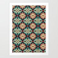 Morrocan Geometric Culture 1 Art Print