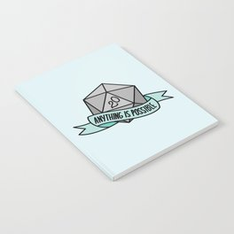 Anything is Possible D20 Notebook