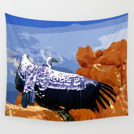 Vulture Spirit Guide Wall Tapestry