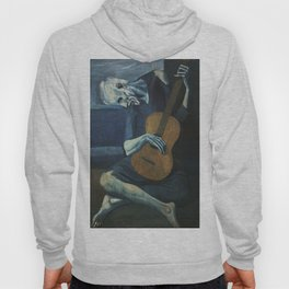 The Old Guitarist Hoody
