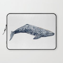 Grey whale Laptop Sleeve