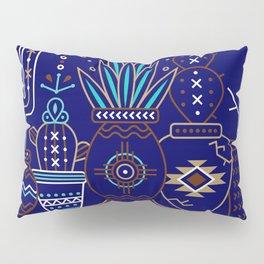 Santa Fe Garden – Navy Pillow Sham