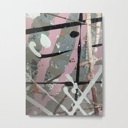 Flight of Color - close up Metal Print