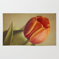 tulip Area & Throw Rugs featuring Tulip by Lawson Images