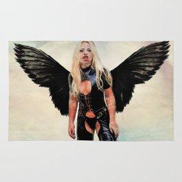Winged Avenger Rug