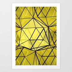 hexagonal dreaming Art Print
