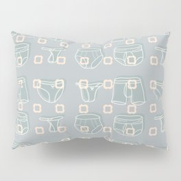 Underwear Grey Color Pillow Sham