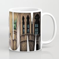 theatre Mugs featuring The Melbourne Forum Theatre by Paul Vayanos