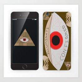 Illuminati Confirmed by: Payton D. Art Print