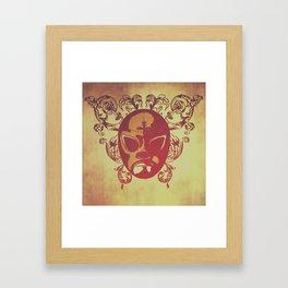 trre Framed Art Print