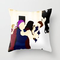 jewish Throw Pillows featuring Jewish wedding by Design4u Studio