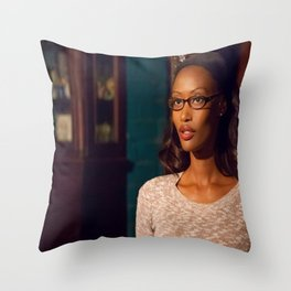 LumberJacks Wife Throw Pillow