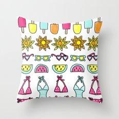 Summer Daze Throw Pillow