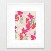 splatter Framed Art Prints featuring Splatter by C Designz