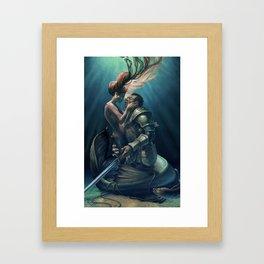 Kiss of Life Framed Art Print