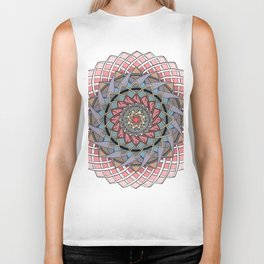 Mandala - A Meditation For Focus And Calm Biker Tank