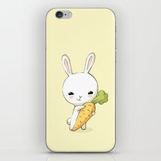 Bunny Carrot 2 iPhone & iPod Skin