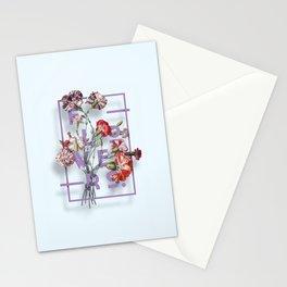 Flowers Bloom Botanicals Vintage Illustration Poster #3 Stationery Cards