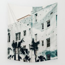 palm mural venice i Wall Tapestry