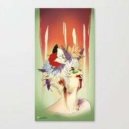 Bleed o'bleed Canvas Print