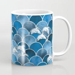Wave Jumpers (Blue) Coffee Mug