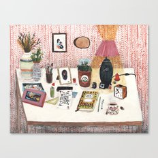 Still Life II  - Desk Canvas Print