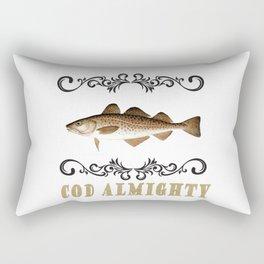 Cod Almighty Rectangular Pillow
