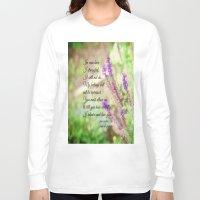 jane austen Long Sleeve T-shirts featuring Mr. Darcy Proposal Jane Austen by KimberosePhotography