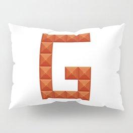 "Letter ""G"" print in beautiful design Fashion Modern Style Pillow Sham"