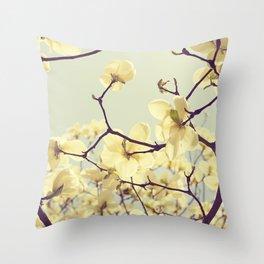 Magnolia Dream Throw Pillow