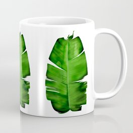 Banana Leaf Painting Coffee Mug