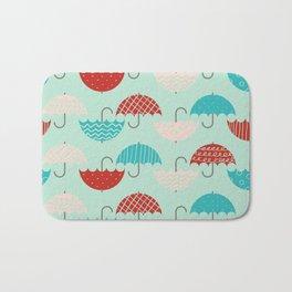Umbrellas Bath Mat