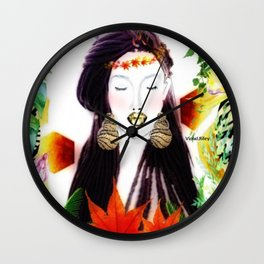 IP Woman Wall Clock