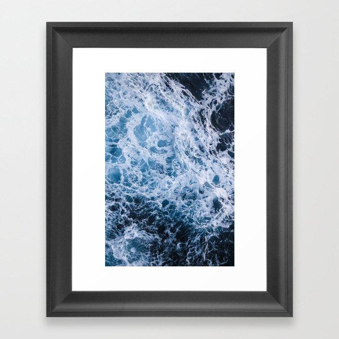 Open Ocean Gerahmter Kunstdruck