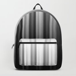 Black And White Soft Blurred Vertical Lines - Ombre Abstract Blurred Design Backpack