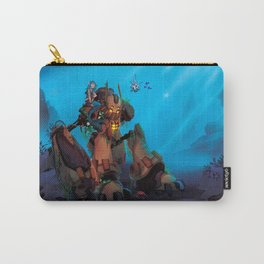 Rust and Water Carry-All Pouch