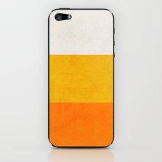 three stripes - candy corn iPhone & iPod Skin