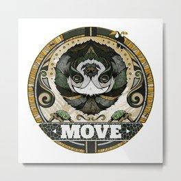 Move Metal Print