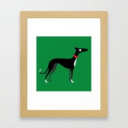 Crazy Hounds Framed Art Print