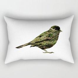 olive tree sparrow Rectangular Pillow