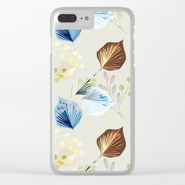 Leaves and twigs Clear iPhone Case