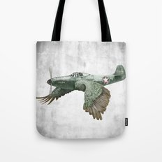 In which it's a bird. It's a plane. (Now in technicolour) Tote Bag