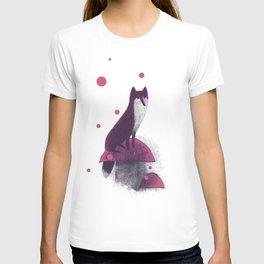 Little Fox and Mushrooms T-shirt