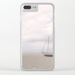 Stranded at Low Tide Clear iPhone Case