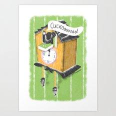 Cuckoo Boy Art Print