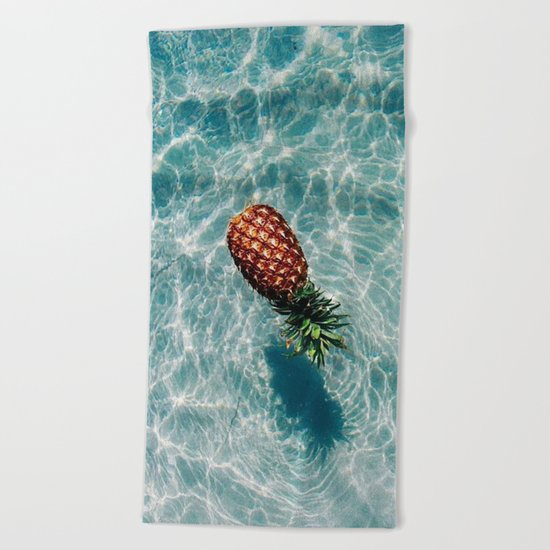Ah, Summer: Pineapple Beach Towel