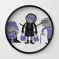 superheroes Wall Clocks featuring Superheroes! by monrix