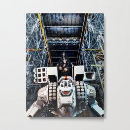 Robotech Metal Print